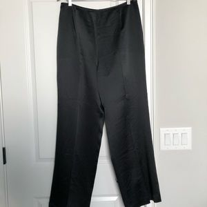 Talbots Pure Silk Black Pants